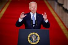 Washington will continue its fight against terrorism in Afghanistan & other countries: Biden