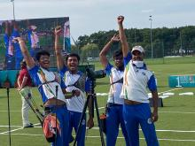 Youth World Archery Championship-Poland : India finishes its campaign with 8 Gold, 2 Silver & 5 Bronze