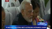 PM Modi meets world leaders in Manila