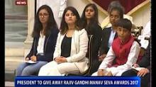 President Kovind confers Bal awards on the occasion of children's day