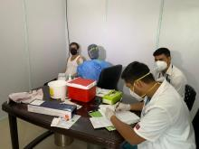DIAL launches COVID-19 vaccination centre for airport staff at T3