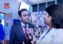 DD News speaks to A.R Rahman at IFFI 2017