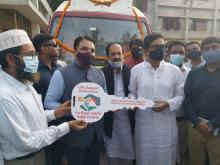 India hands over life support ambulance to Bangladesh