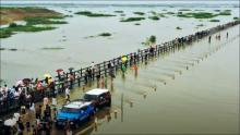 Heavy rains cause mayhem in parts of China, over 100,000 evacuated
