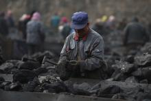 Coal prices in China hit record high as flooding risks coal supply