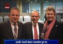 Justice Bhandari's appointment is recognition of India on global platform