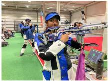 Indian Olympic Shooting Team looking towards first training session in Tokyo