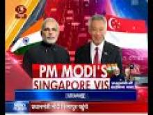 PM Modi in Singapore for 3-day official visit