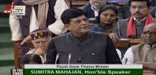 FM presents Interim Budget 2019 in Parliament