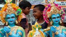 Janmashtami being celebrated with religious fervor & gaiety