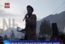 Anti-Pak protests across Gilgit Baltistan against illegal taxation