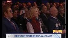 India's soft power on display at Davos