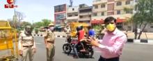 जयपुर: भीषण गर्मी में भी पूरी निष्ठा से लॉकडाउन का पालन कराने में जुटे हैं पुलिसकर्मी