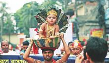 Janmashtmi being celebrated in Bangladesh