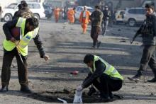 11 killed, 25 wounded in Kabul suicide attack in Afghanistan