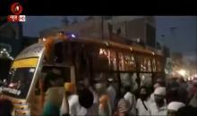Nagar Kirtan of Sri Guru Nanak Prakash Yatra crosses Muktasar, Punjab