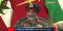 Indian Army briefs media on Jammu and Kashmir