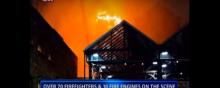 Massive Fire In London's Camden Lock Market