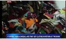 Cloth bank in Meerut distributes clothes to the poor