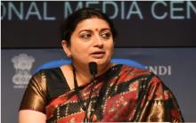 Government committed to welfare of poor: Union Minister Smriti Irani