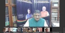 Ban on 59 Chinese apps great opportunity for Indians: Union Minister Ravi Shankar Prasad