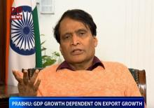 GDP growth dependent on Export growth