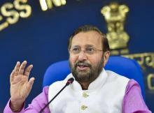 """Blaming Modi govt for sedition case against artists is """"absolute falsehood"""":Javadekar"""