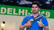 Saurabh Chaudhary finishes seventh in Men's 10M Air Pistol at Tokyo 2020