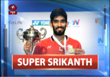 Exclusive interview with Badminton star Srikanth Kidambi