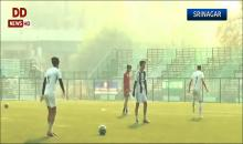 Srinagar: Real Kashmir FC is scripting an Indian football fairy tale