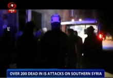 ISIS suicide blasts kill more than 220 in southern Syria