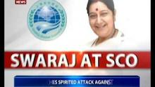EAM Sushma Swaraj on a two-day visit to Mongolia