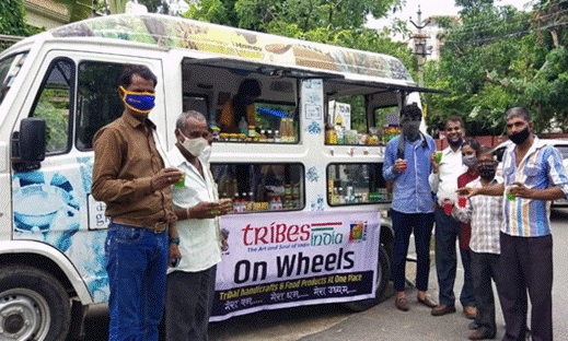 Union Minister Arjun Munda flags off 'Tribes India On Wheels' Mobile Vans