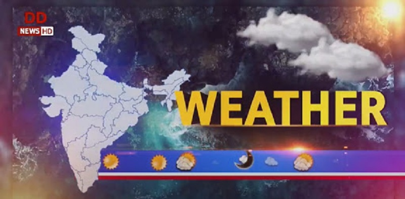 Weather forecast for various places across country